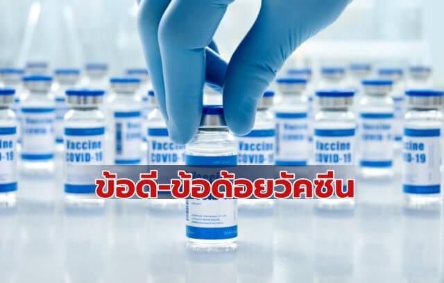 วัคซีนโควิด 5 ยี่ห้อ