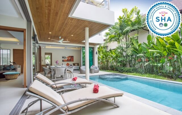 SHA Certified Boutique Pool Villa Phuket m