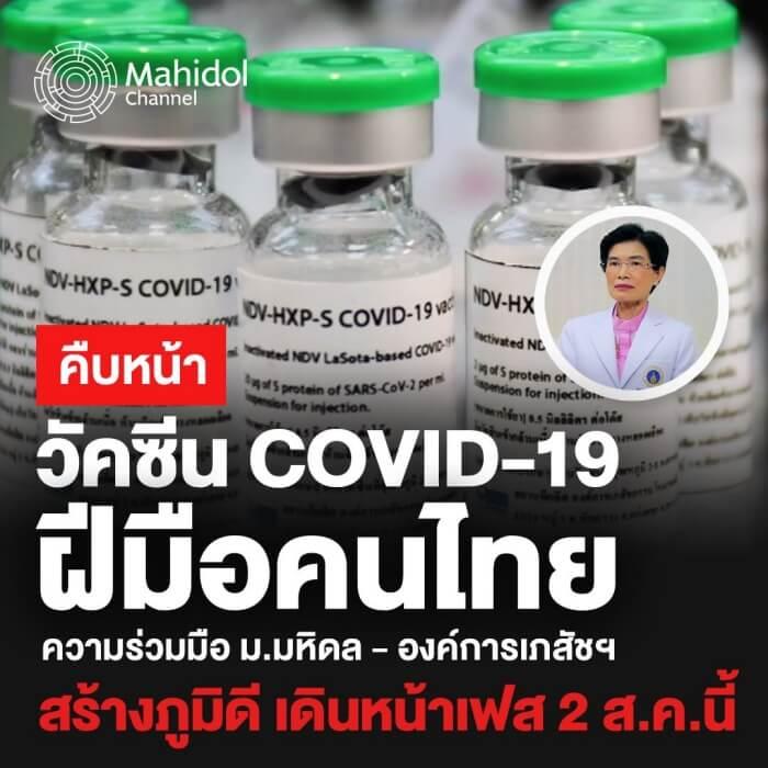 วัคซีนคนไทย
