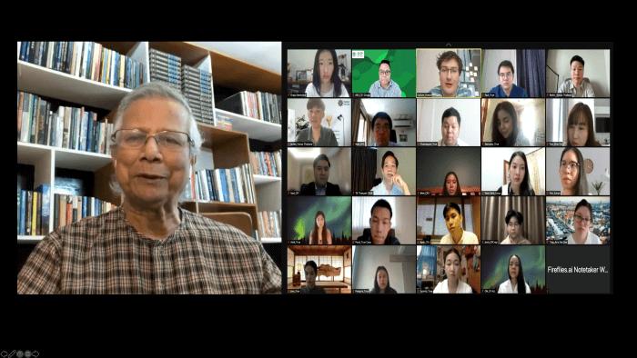Professor Yunus CPG OYW 2021