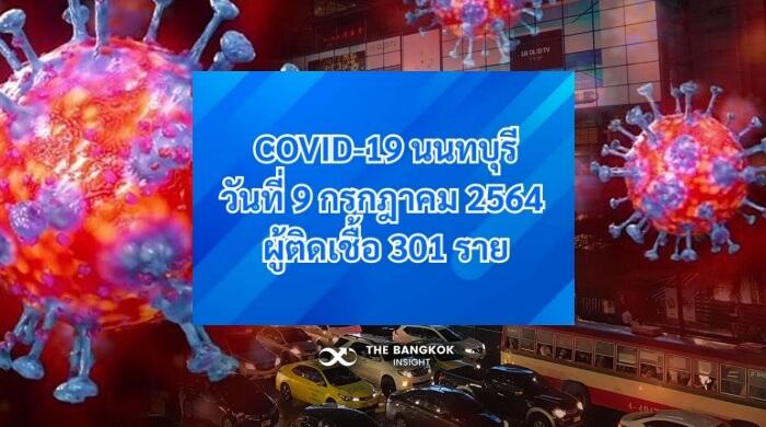 โควิด นนทบุรี วันนี้
