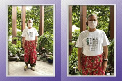 รูปข่าว กรมสมเด็จพระเทพฯ สวมฉลองพระองค์เสื้อยืด ลายฝีพระหัตถ์ ข้อความให้กำลังใจบุคลากรทางการแพทย์