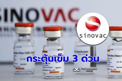รูปข่าว งานวิจัยจุฬาฯ ล่าสุด ฉีดวัคซีนซิโนแวค 2 เข็ม ภูมิลดไว รีบกระตุ้นด่วน