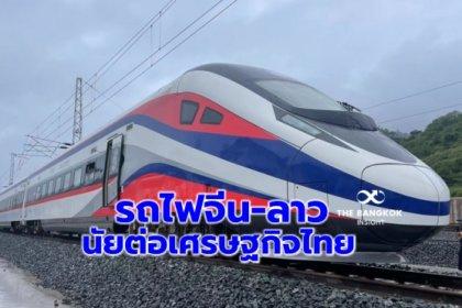 รูปข่าว เปิดหวูด 'รถไฟจีน-ลาว' นัยต่อเศรษฐกิจไทย